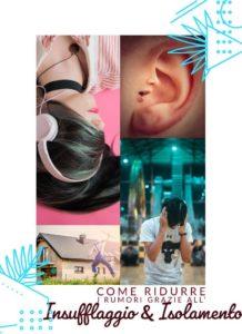 isolamento acustico con fibra di cellulosa