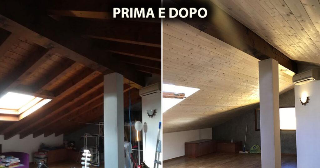 isolamento termico tetto con fibra di cellulosa